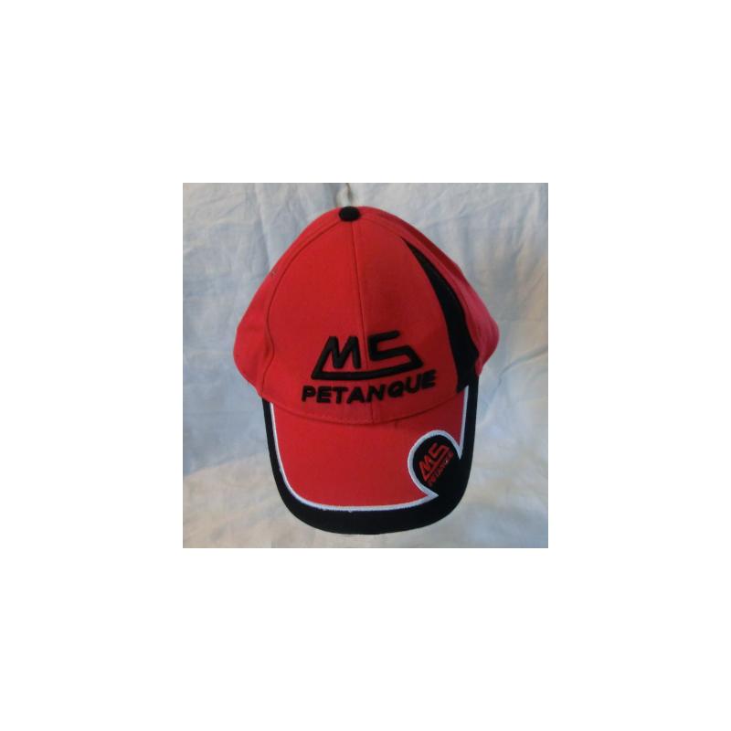 Caps MS rød/sort