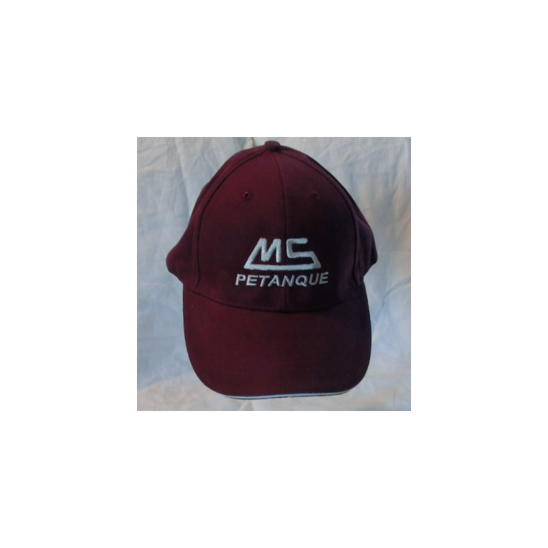 Caps MS vinrød