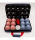 Ledo Suede set, 13 balls