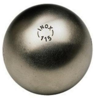 LBB Inox 115, 73mm 690gr Mønster 0 (glatt)