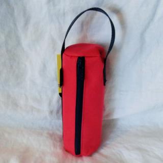 Obut kule veske seilduks tyg (rød)